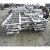Puerta de aluminio revestida Kz090 del marco del polvo blanco del color de la alta calidad