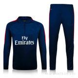 フットボールのためのタイのフットボールのワイシャツデザインサッカーのトレーニングのスーツのトラックスーツ