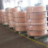 Tubo llano del cobre de la herida de la refrigeración para el acondicionador de aire central