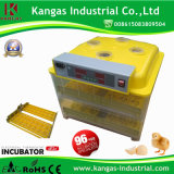 Mini incubateur d'oeufs à couver d'incubateur de cailles de PCS/de l'incubateur 96 d'oeufs