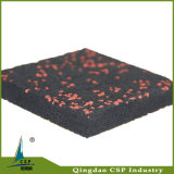 Циновка крытой пригодности пользы эластичной резиновый с цветастыми спеклами