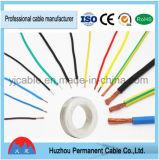 Câble électrique isolé par PVC du câblage cuivre rv de qualité dans le prix bas