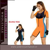 Nueva ropa de deportes del amaestrador del neopreno de la gimnasia de mujeres del diseño (TG8016)