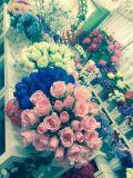 현대 싼 결혼식 인공 꽃 로즈