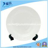 placa branca cerâmica do Sublimation 8 '' ou 10 ''