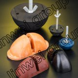5t Spherical Head Rubber Former / Rubber Recess Former with Rod roscado