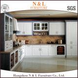 Gabinete de cozinha antigo personalizado novo do PVC