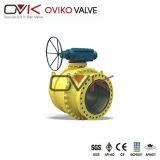 Bas-de-ligne Trunnion Ball Valve dans l'industrie du gaz de Water/oil/