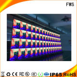"""Indicador diodo emissor de luz do diodo emissor de luz ao ar livre da cor cheia de """"(parede video ultra-desobstruída do diodo emissor de luz P6)"""