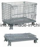 Cesta de fio de aço do metal do rolo/gaiola de Storgae