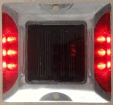luz pilota LED del espárrago solar del camino de 75m m con control de la luz del sol