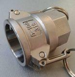 Camlock du SUS 316 du SUS 304 d'acier inoxydable de la Chine