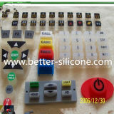 Kundenspezifisches Silicone Rubber Switch mit Epoxy Surface Treatment