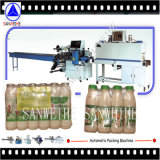 Machine collective d'emballage en papier rétrécissable de bouteilles à lait