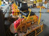 Benzin-konkrete Fahrt auf EnergieTrowel Gyp-846 mit Laufkatze-Rad