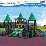 Campo de jogos ao ar livre HD-024A das crianças baratas do castelo do jogo