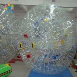 Belüftung-aufblasbares Stoßfußball-Kugel-Luftblasen-Wasser gehende Zorbing Kugel