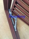 Obturador de aluminio del marco/de la lumbrera del oscilación o del obturador de aluminio fijo de la lumbrera