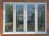 Aberturas maximizadas que deslizam preços de alumínio de dobramento das portas