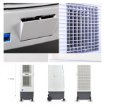dispositivo di raffreddamento di aria domestico elettronico di /Portableevaporative del dispositivo di raffreddamento di aria dell'edizione di uso 150W con grande capienza del serbatoio di acqua