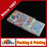 Cartes de jeu estampées par coutume en plastique de PVC (431001)