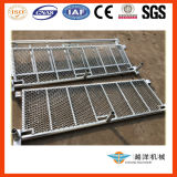 Plataforma de Mesh Landing do metal para Scaffolding