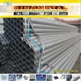 Tubo de acero galvanizado sumergido caliente del acero de carbón de Bs1387 Efw/ERW/LSAW
