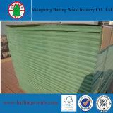 食器棚のための12mm緑の防水未加工MDF