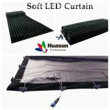 Mostrare ed organizzare la tenda utilizzata della flessione LED (FLC -100)