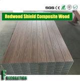 Decking en bois en plastique de terrasse du composé WPC d'écran protecteur