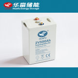 batterie rechargeable scellée par 2V500ah pour l'UPS