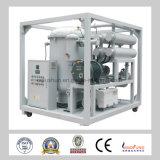Purificateur d'huile à double étage avec transformateur à vide avec boîtier