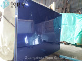 6mm-10mm Frente jardín azul oscuro plana hoja de vidrio (C-dB)