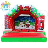 Castello rimbalzante 2016 della festa di Natale superiore di vendita diretta della fabbrica