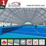 Polygon-Entwurf im FreienSpoort Zelt für Basketball