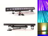 Rondelle de mur d'éclairages LED de qualité de Hight lumière extérieure de 14PCS X de 3W RVB