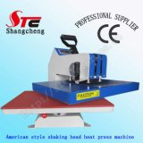 American Shaking Head Heat Press Machine 38*38cm Digital Swing Away Heat Transfer Machine Manual T Shirt Press Printing Machine Stc-SD03