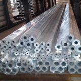 Bouwmateriaal 6063 Uitgedreven Aluminium om Buis