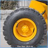 цена по прейскуранту завода-изготовителя 1ton Китая впихывает затяжелитель колеса впихывает передний затяжелитель