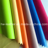 Популярная кожа PU синтетическая для одежды одевает Hw-852