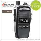 Petite radio bi-directionnelle bon marché tenue dans la main de fréquence ultra-haute de VHF de la radio Lt-002