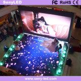 Bildschirm-Panel LED-Innenbildschirmanzeige des Druckguss-4mm im Freien farbenreiche video