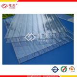 紫外線保護されたプラスチック屋根ふきはポリカーボネート空シートのポリカーボネートの固体シートにパネルをはめる