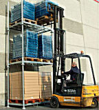 Pesante-dovere Storage Metal Stack Racking del magazzino con Posts Style