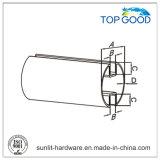 Topgood 스테인리스 둥근 두 배 채널 관 (51010)