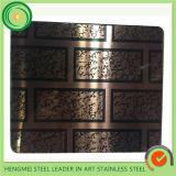 Dekoratives Edelstahl-Blatt der gute Qualitäts304 mit niedrigem Preis