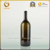 большая бутылка красного вина Бордо 1500ml стеклянная (036)