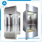 Cabine de vidro do competidor qualificada do preço 800kg para o elevador da observação (OS41)