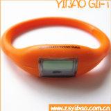Vigilanza poco costosa del Wristband del silicone per la vendita promozionale (YB-SW-65)