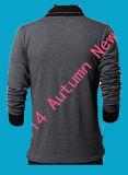 2015 nouveaux longs T-shirts de douille de source